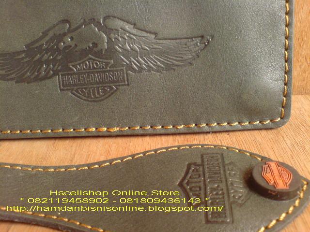 Dompet Harley Davidson Kulit Kode DKL83