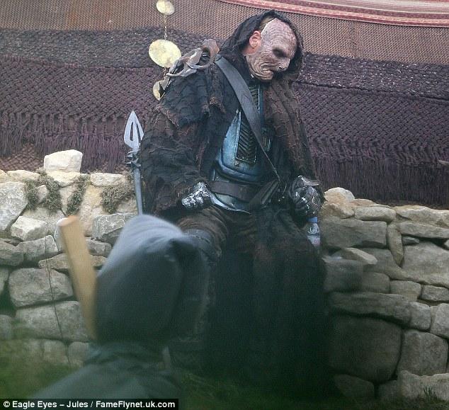 Marauder del rodaje Thor: The Dark World