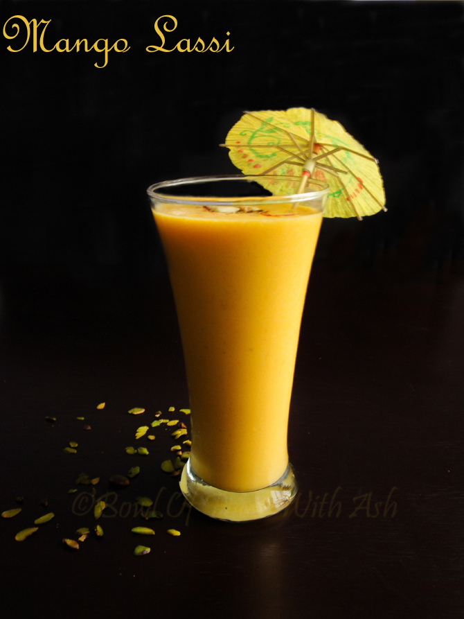 ... Of Food With Ash: Mango Lassi Recipe | How to Make Mango Yogurt Drink