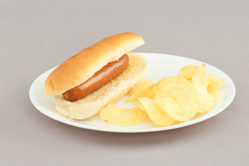 Hotdog And Chips Clipart Grimes Lions Cl...