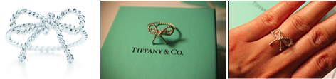 tiffany & Co. twist ring, twist bow ring