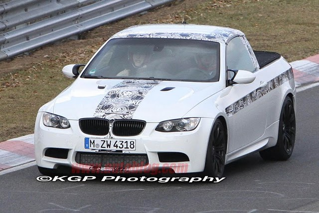 2011 BMW M3 pick-up spy photos