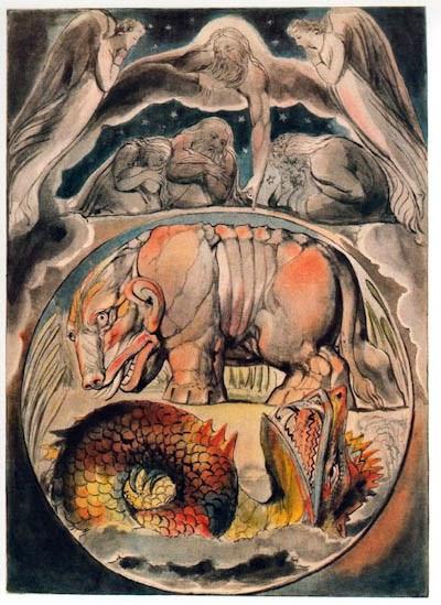 Leviathan (Job 40:21), 1964-1967 - Salvador Dali - WikiArt.org