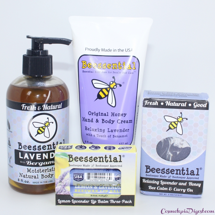 Beessential Skin Care Products: Hand Cream, Lip Balm, Body Wash and Soap Review