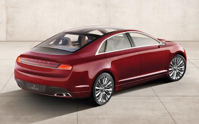 2012 Lincoln MKZ Concept