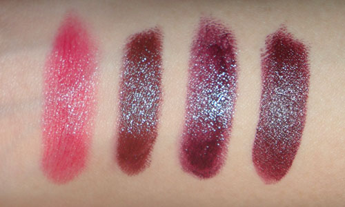 ... MAC MAC Me Over Collection: Tiny Haul and Swatches (Prince Noir and