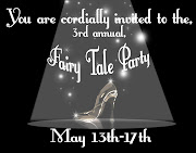 3rd Annual Fairy Tale Party. Will you be there?