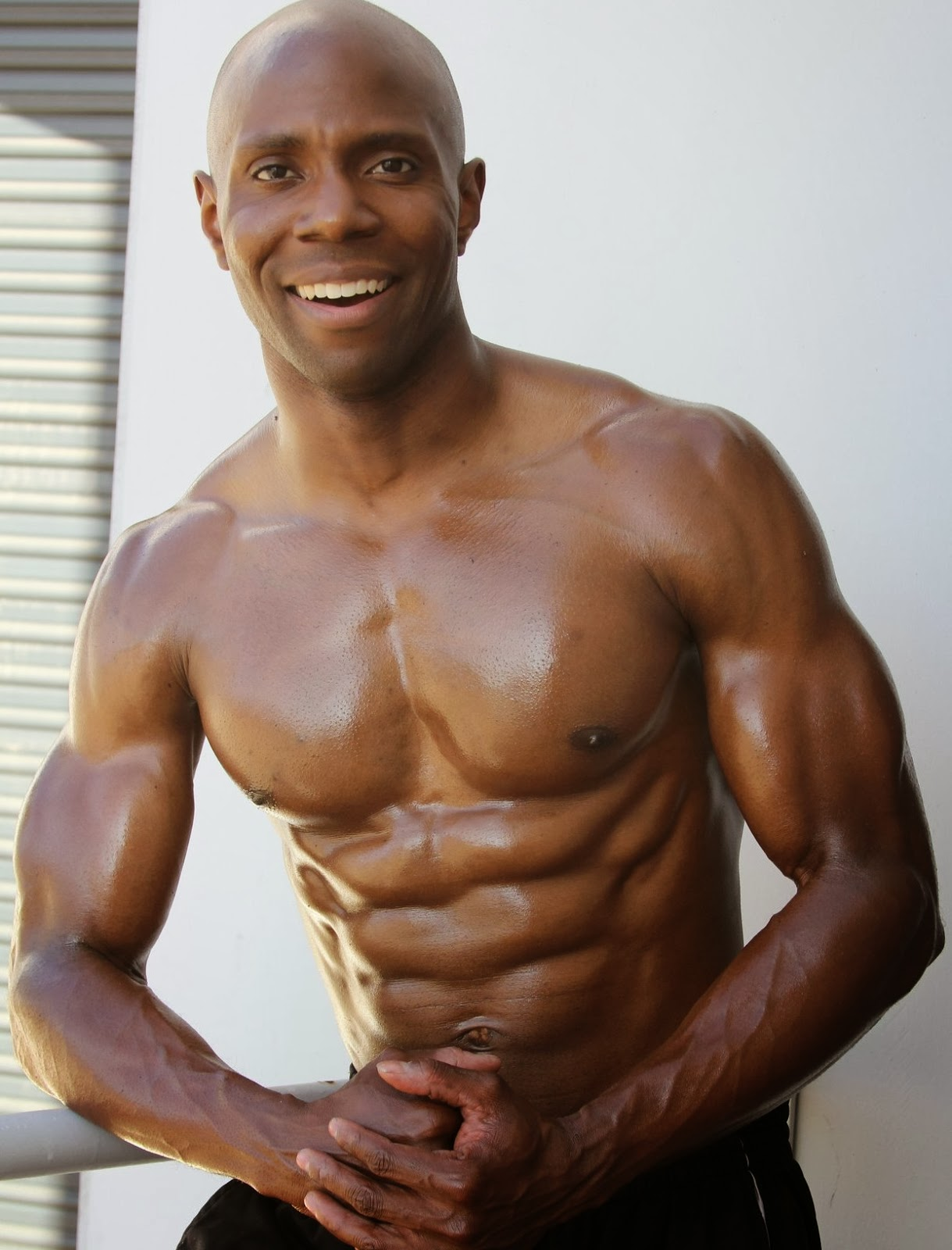 Obi Obadike- Male Fitness Model