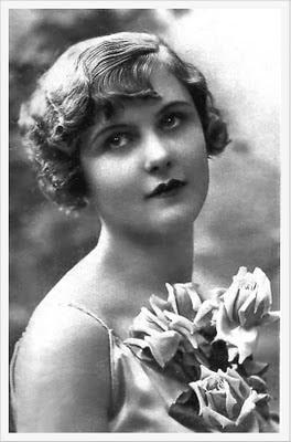 foto vintage de chica años veinte