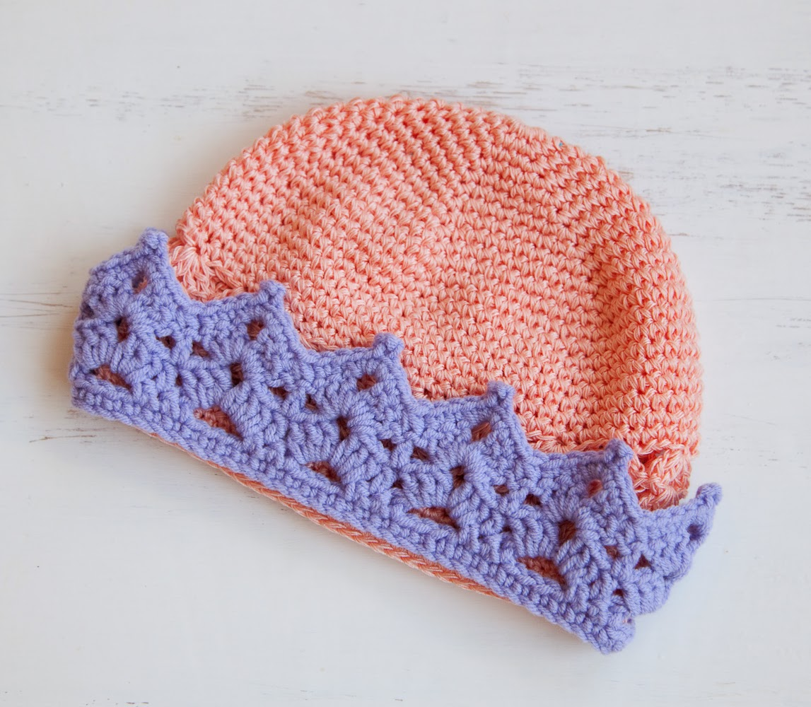 Knitted Baby Crown Pattern : Lana creations My knitting work, knit project and free ...
