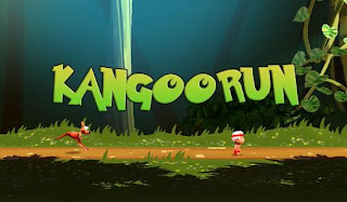 Screenshots of the Kangoorun for Android tablet, phone.