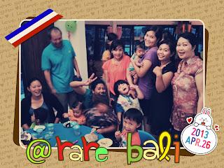 Ultah di RaRe Bali
