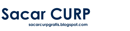 Sacar CURP Consultar gratis para Imprimir en Linea