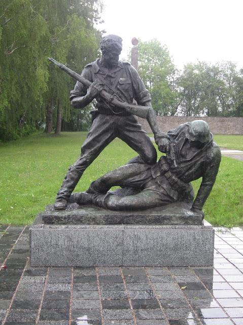 Albanian Monument, Mauthausen Concentration Camp, Vienna / SouvenirChronicles.blogspot.com