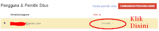 cara Verifikasi Situs di google webmaster tools