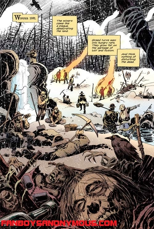 Lance Henriksen Native Indian horror mystery comic miniseries