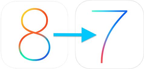 මේ මොහොතේ ඔබට iOS 8 සිට iOS 7.1.2 වෙත Downgrade කළ හැකි ය.