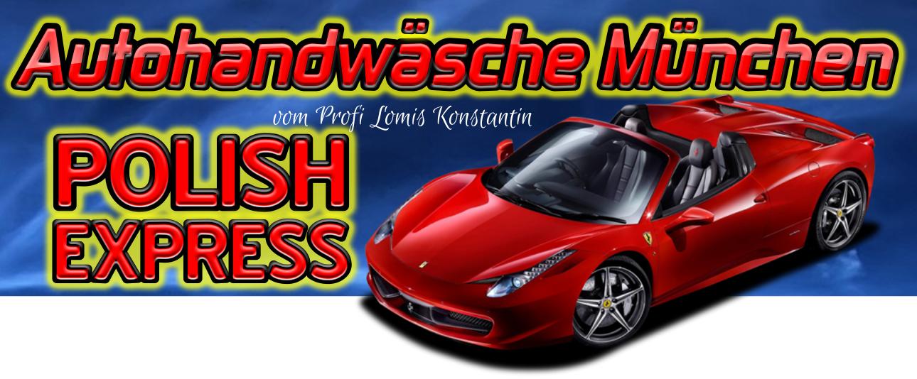 Autohandwäsche München vom Profi