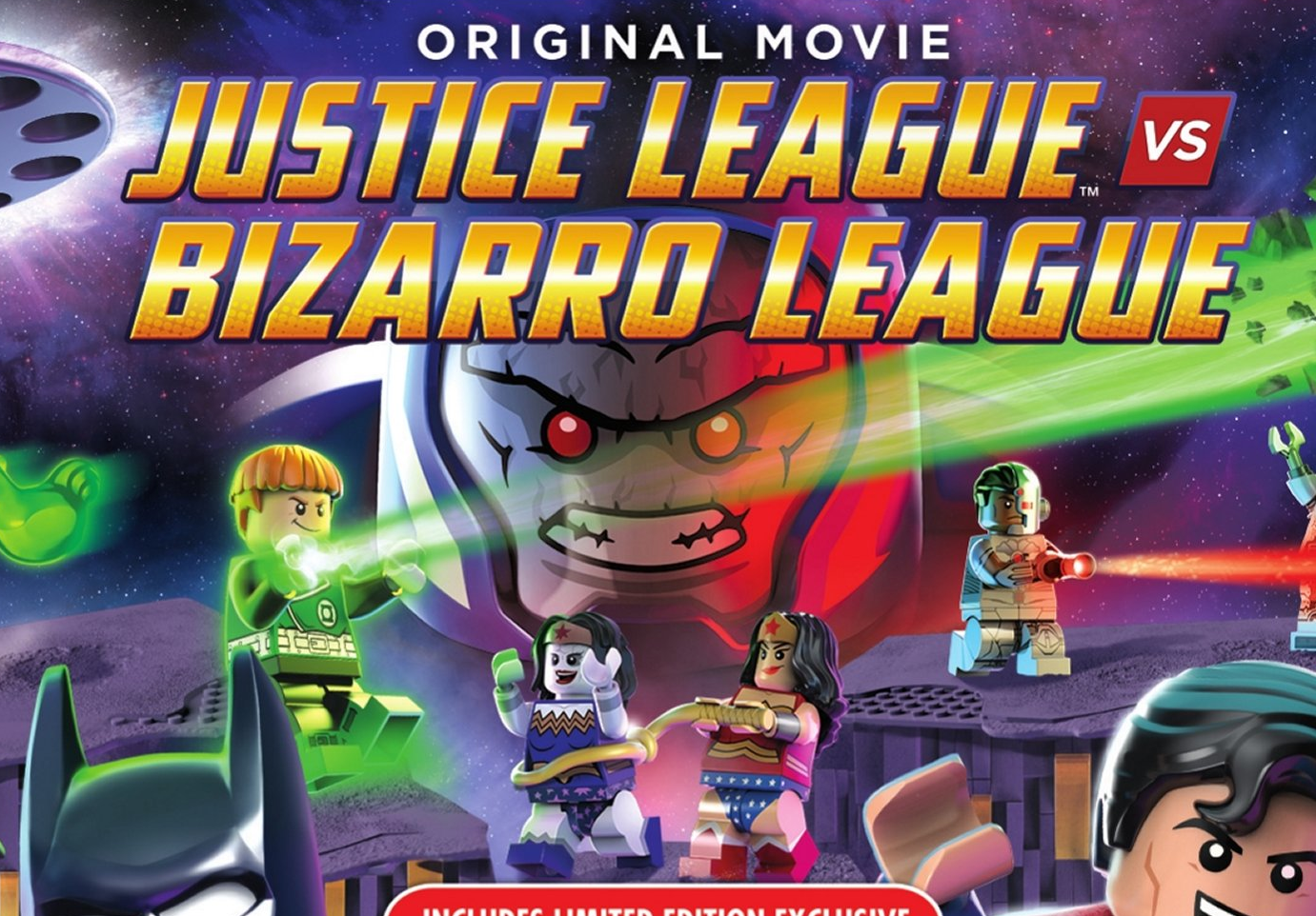 Justice League vs. Bizarro League: First Look