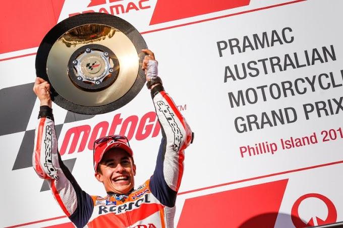 Hasil Race MotoGP Phillip Island 2015 - Sengit Seru Super Sekali!
