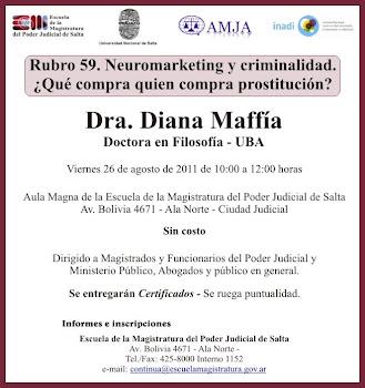Charla Diana Maffía en Salta