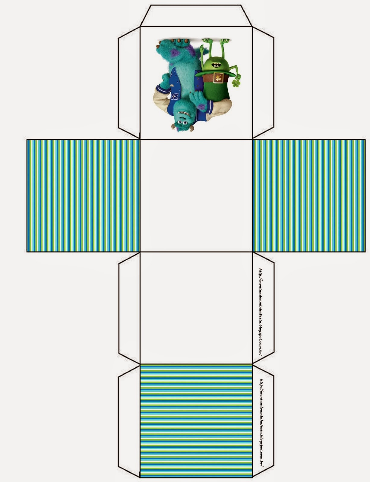 Caja cubo.
