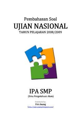 Pembahasan Soal Un Ipa Smp 2009 Informasi Pendidikan