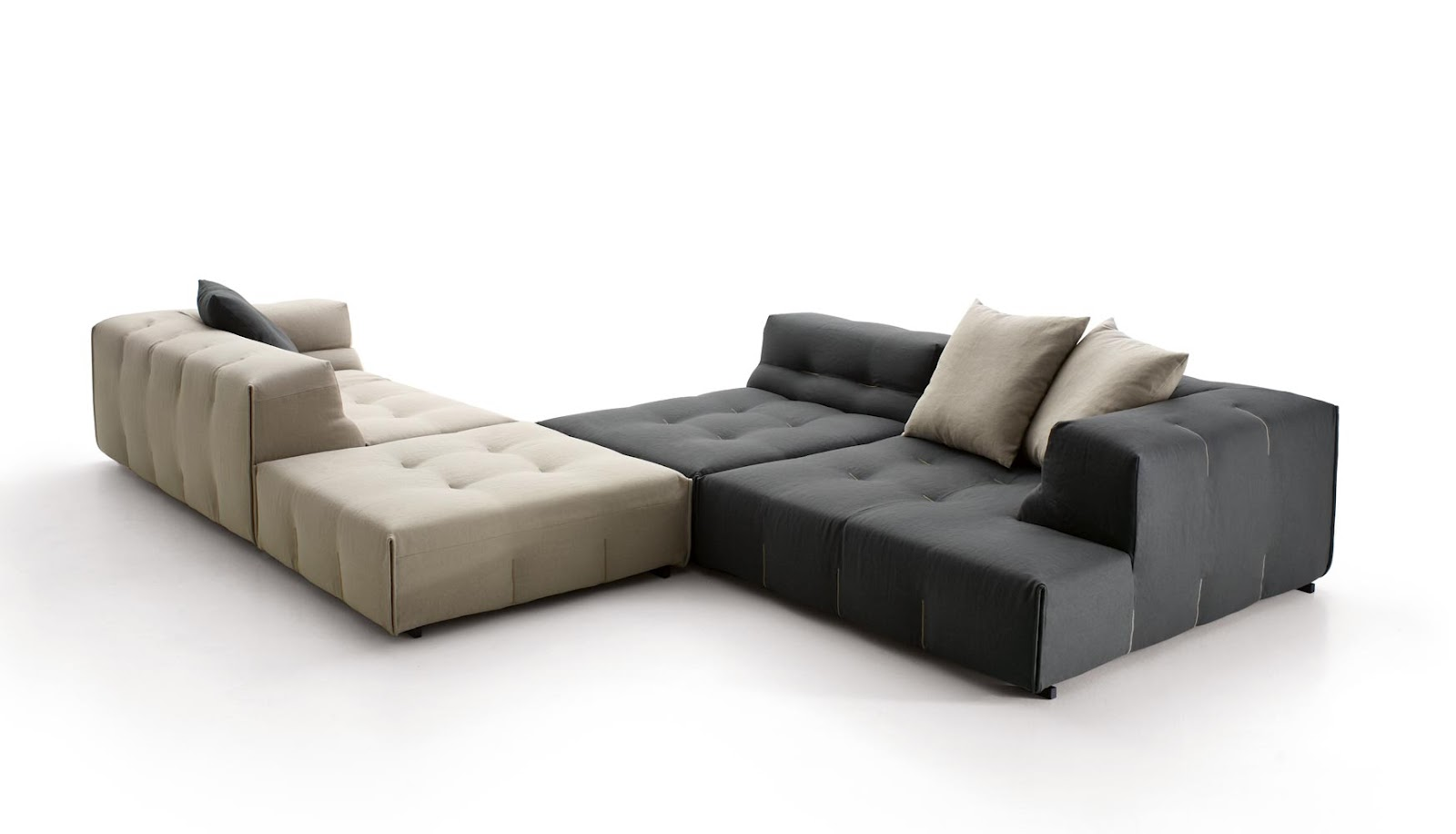 tufty too sofa by b b italia designer furniture fitted. Black Bedroom Furniture Sets. Home Design Ideas