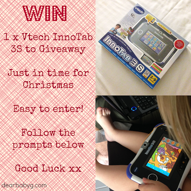 Vtech, InnoTab 3s, review, Christmas, Birthday, review, trial, sponsored post, product review, technology, toddlers, children, safe internet usage, win, giveaway, competition