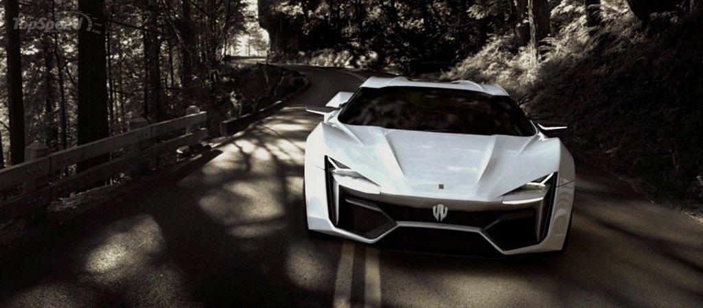 $3.4 Million Lykan Hypersport Debuts In Production Trim At Dubai ...