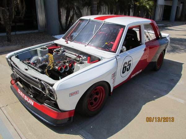 Race Car, 1971 Datsun 510 Sedan | Auto Restorationice