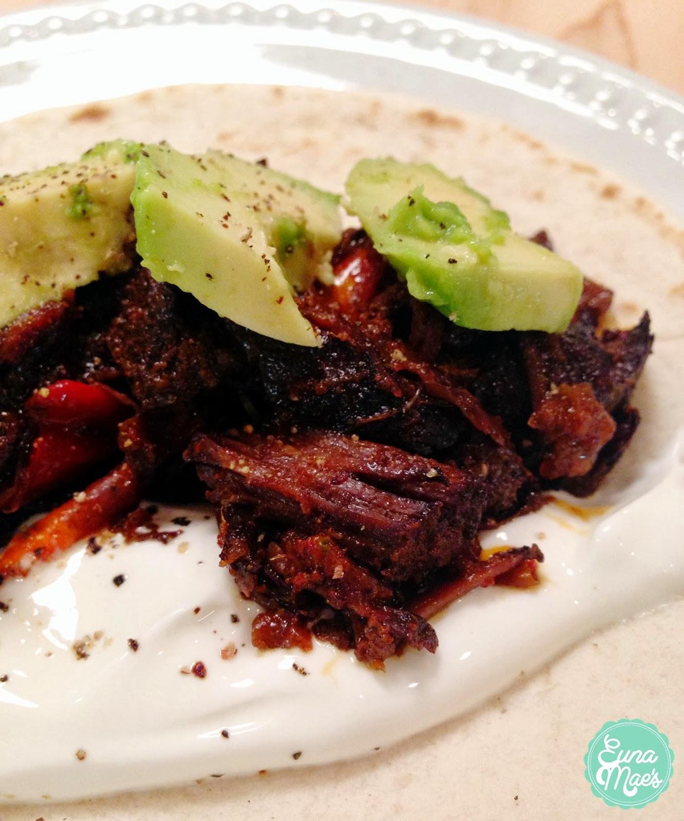 Euna Mae's : easy carne asada tacos