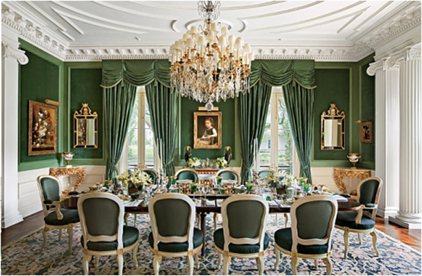 English Country Dining Room Design Ideas