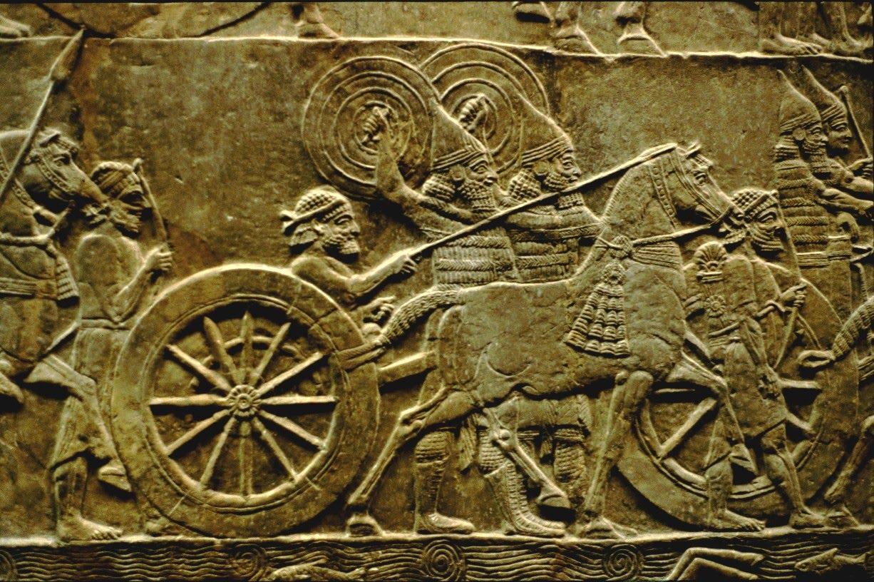 Combattants assyriens