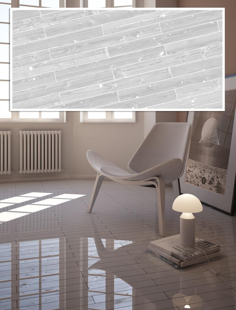 riflessione pavimento materiali vray