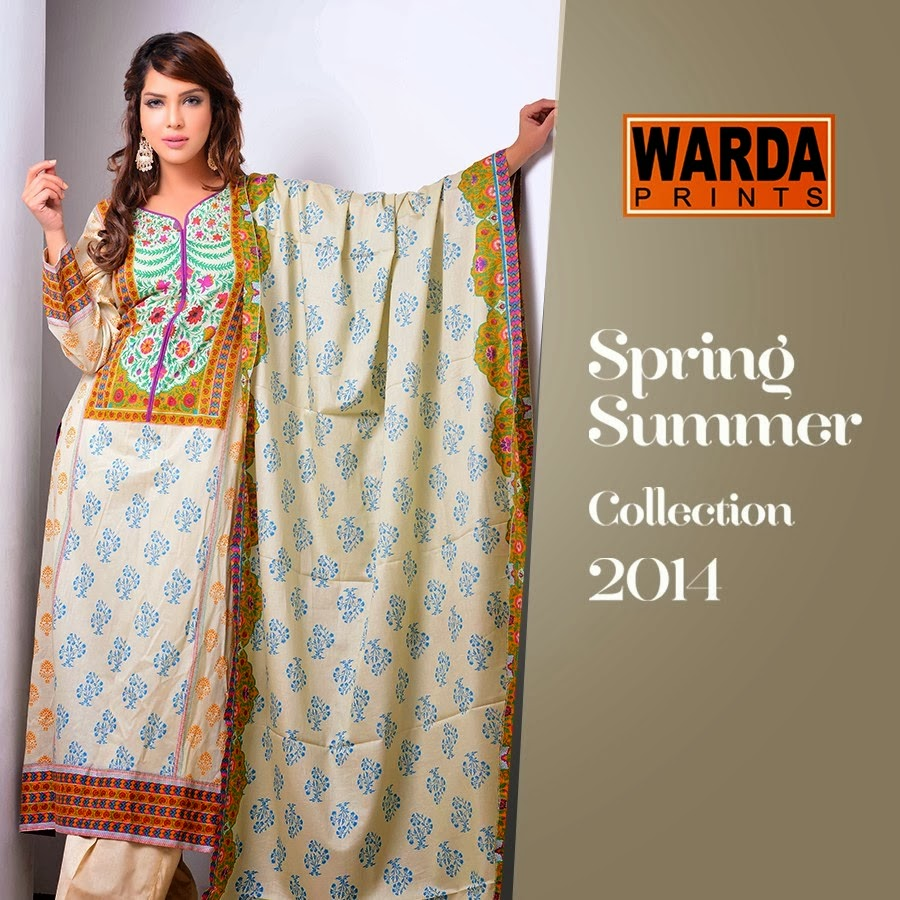Printed And Embroidered Lawn Dresses