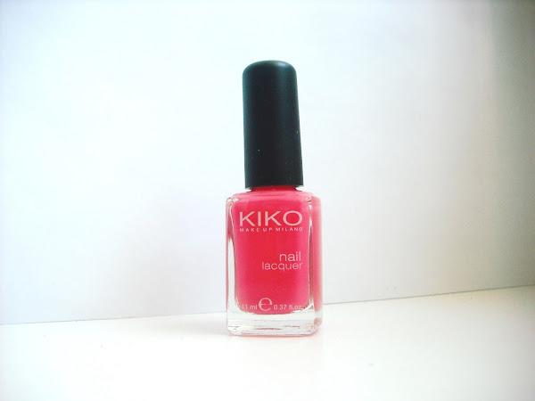 Revue du vernis Kiko Strawberry Pink : Océane s'invite sur le blog !