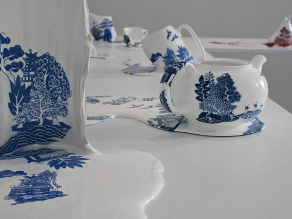 Melting Ceramic Sculptures