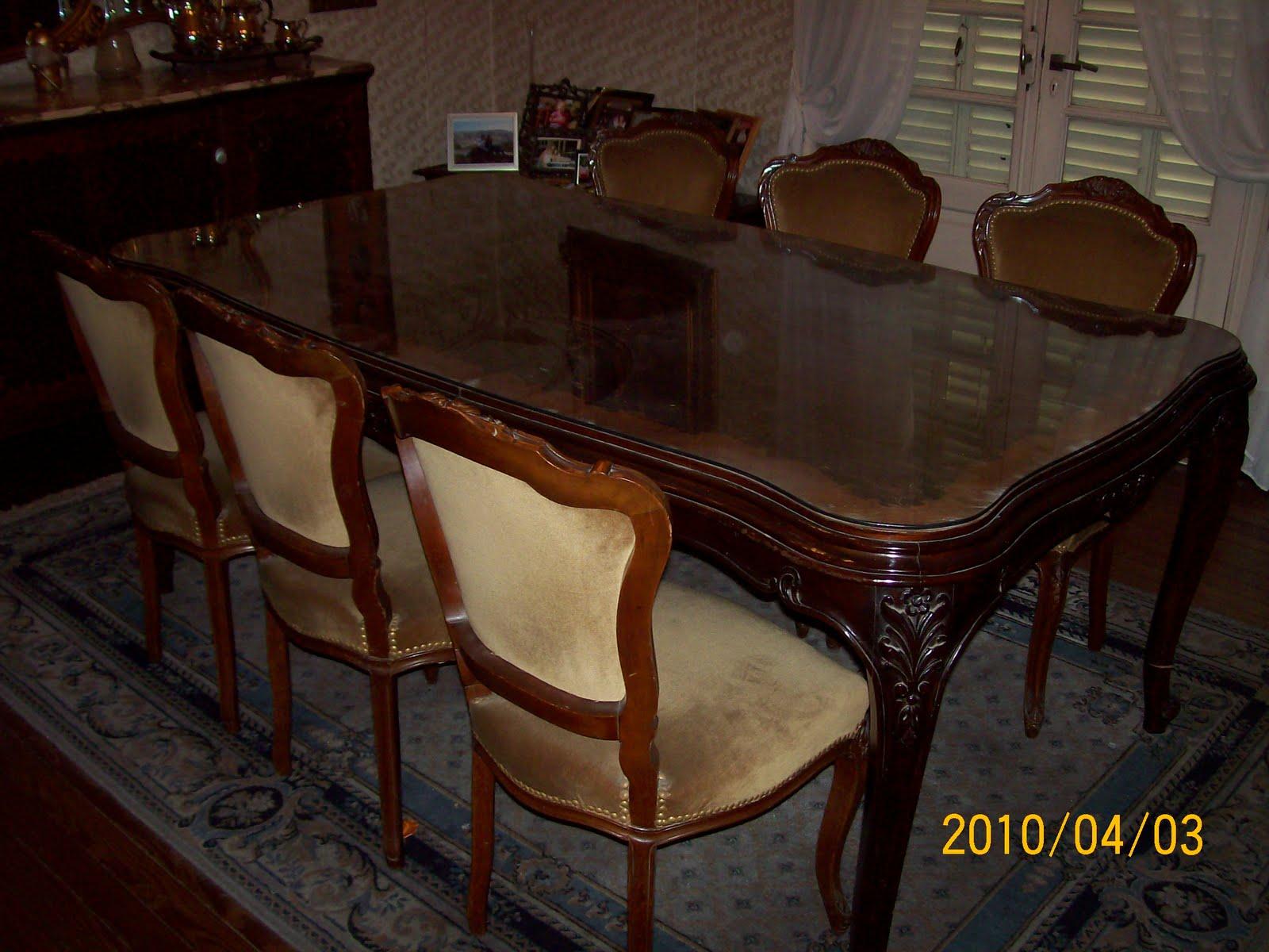 Muebles antiguos en rosario comedor for Muebles de comedor antiguos