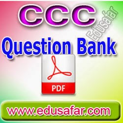 GTU CCC - Question Bank Quick Learning Tool