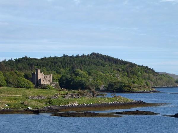 écosse scotland skye randonnée dunvegan castle château