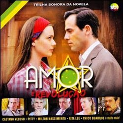 Cd Trilha Sonora   Novela Amor E Revolução