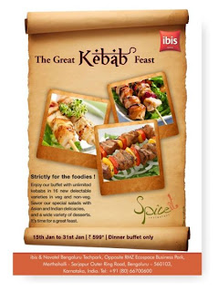 Kebab festival at Bangalore cuisines