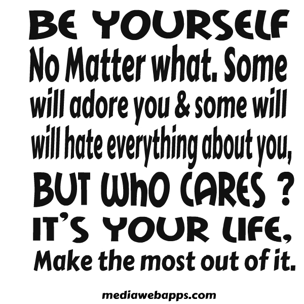 Clever Quotes About Loving Yourself : Be Yourself Quotes Images & Pictures - Becuo