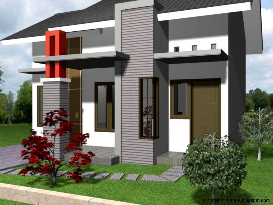 Desain Gambar Rumah Minimalis Type 21 1 Lantai 1024×778  Cara
