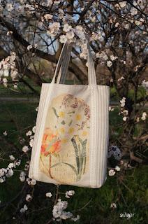 сумка летняя лен