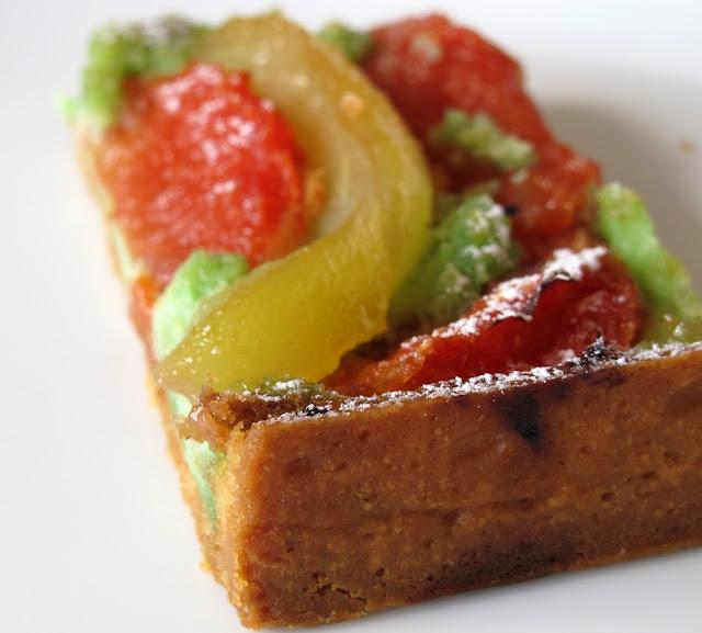 Boulangerie Pichard - Tarte poire pamplemousse pistache
