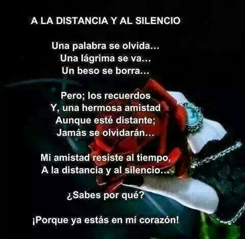 Poema De Amistad