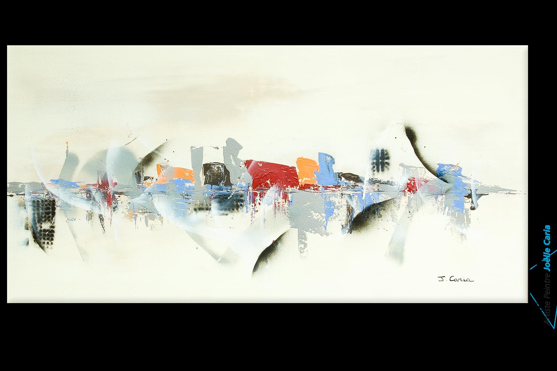 Jo lle caria artiste peintre toiles tableaux modernes contempor - Tableau sur toile moderne ...