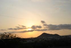 Pôr do sol -Cabo Verde